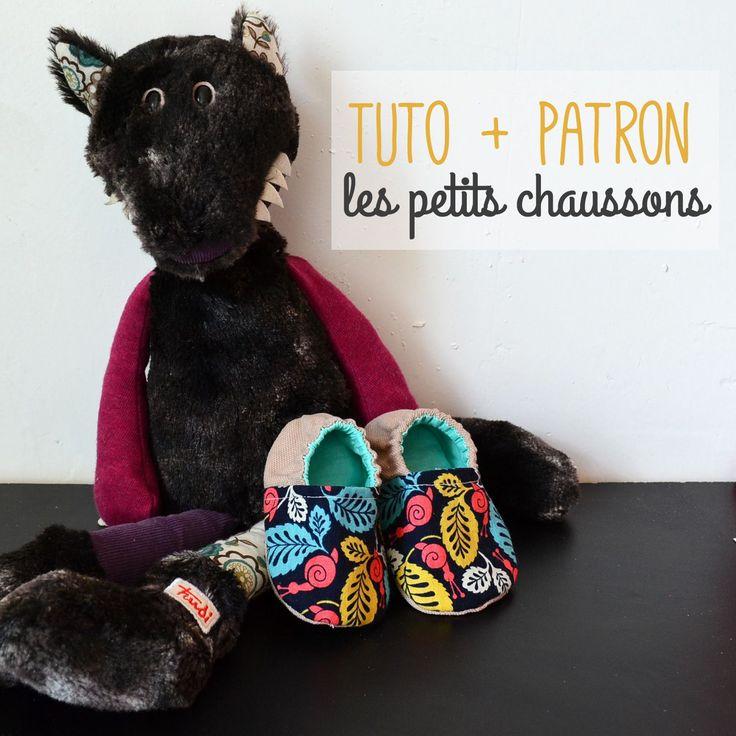 My Little Bag - Couture et Création |   Tuto & Patron : Les petits chaussons pour bébé