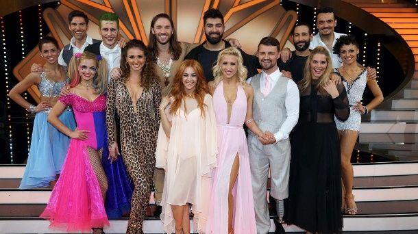 "Sieben Paare treten am 12. Mai noch bei ""Let's Dance"" an. (Quelle: RTL / Stefan Gregorowius)"