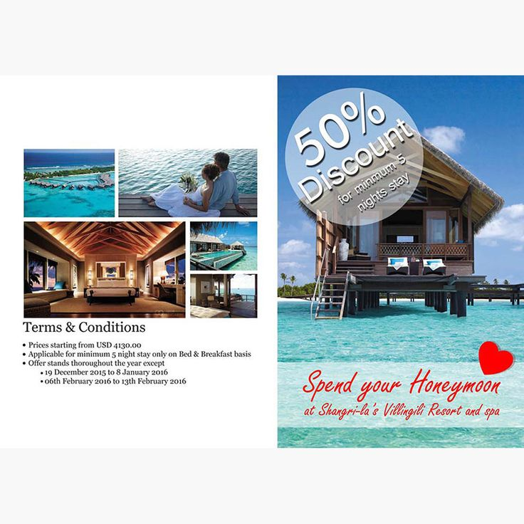 Discounts, Free Bees, Free Nights and more. Daily updated with the latest Maldives deals and offers.