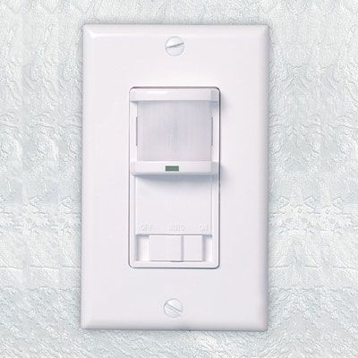 Add a motion detector to a hall light so that nobody has to traipse through the dark on the way to the loo. Leviton occupancy sensor-light switch, $19; smarthome.com