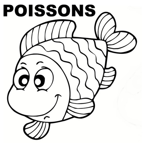 17 best images about coloriage poissons on pinterest ocean life coloring and beach coloring pages - Dessin de poisson d avril ...