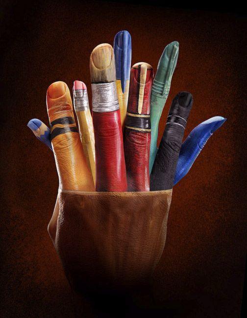 Pinturas feitas à mão | Criatives | Blog Design, Inspirações, Tutoriais, Web Design