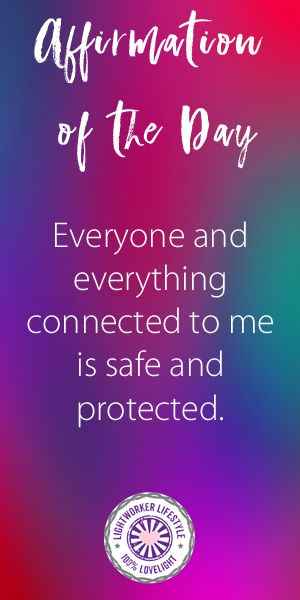 Affirmation of the Day  Everyone and everything connected to me is safe and protected. Read the meaning behind the affirmation on my blog. #positivequotes #quotes #spiritualquotes