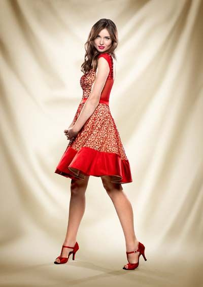 Sophie Ellis-Bextor Strictly Come Dancing 2013
