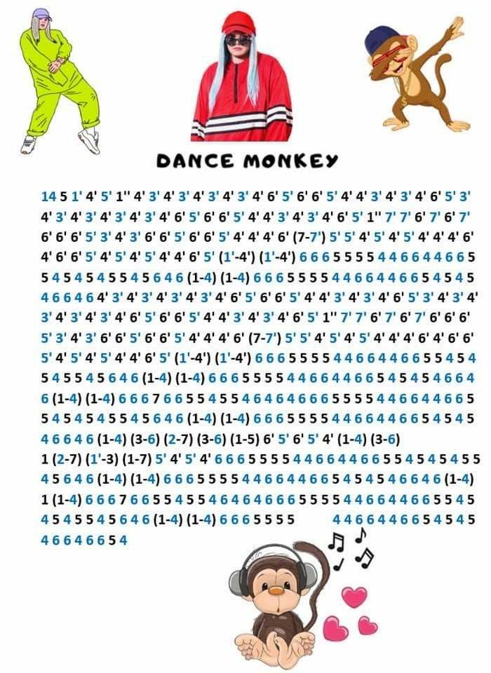 Dance Monkey Kalimba Piano Songs Piano Music Easy Easy Piano Songs