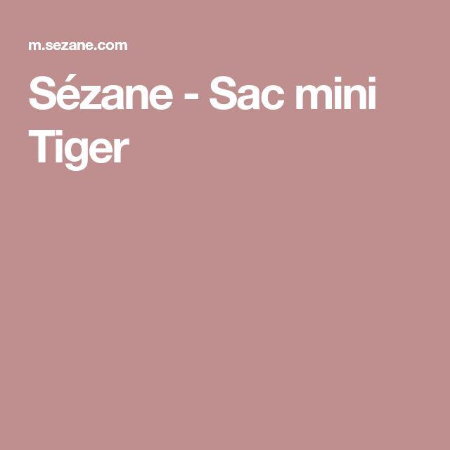 Sézane - Sac mini Tiger