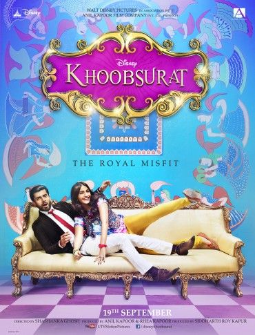 Khoobsurat - Movie Review Disney Khoobsurat is like a Fairytale story, just like the ones we usually have read as kids, with a handsome prince and a beautiful girl who unknowingly fall in love with each other. Fawad Afzal Khan perfectly shines the role of Prince Vikram Rathore. Sonam Kapoor does her best with the new look, funky clothes and absolutely mad performance.