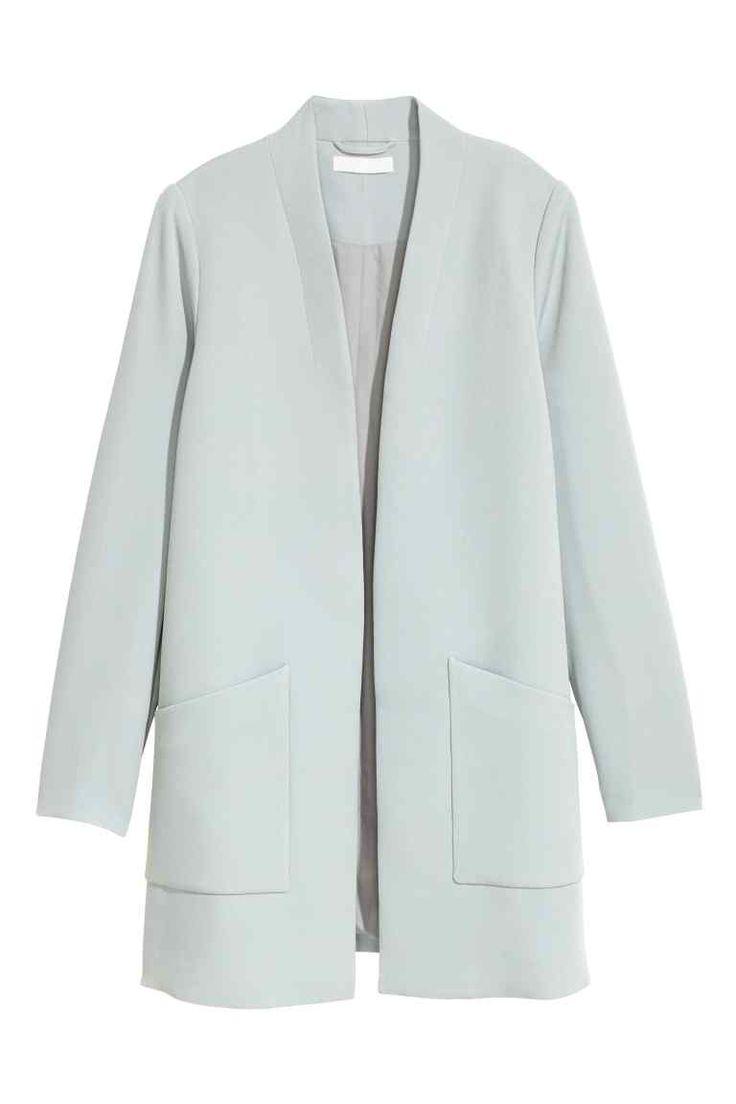 Rövid kabát - Világoskék - NŐI | H&M HU 1