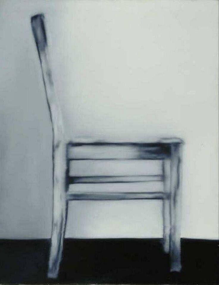 Gerhard Richter - The Chair, 1965