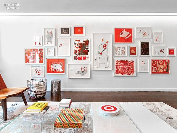 Rottet Studio Hits the Bull s Eye With Target s PR and Marketing Office  Office  Interior DesignInterior Design MagazineOffice  110 best Corporate   Creative Workplace images on Pinterest  . Corporate Office Interior Design Magazine. Home Design Ideas