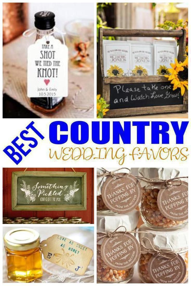 104256b4c26 Country wedding favors your guests will actually love. Find the best wedding  favors for your