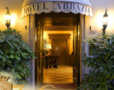 Hotel Abbazia Venice, Italy - Yet another place we'll be staying...