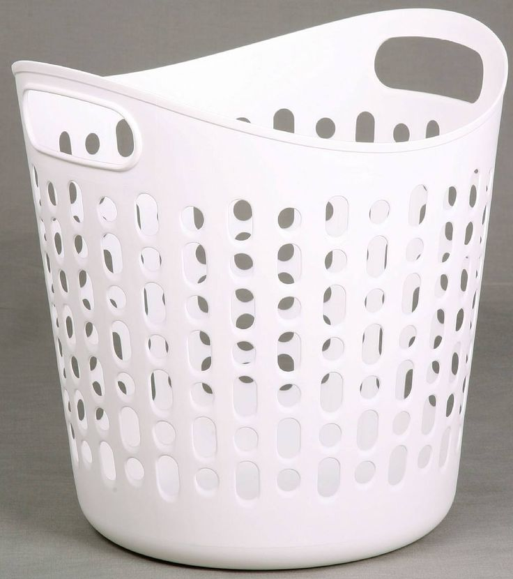 The 25 best plastic laundry basket ideas on pinterest cheap laundry baskets rope store and - Laundry basket lights darks colours ...