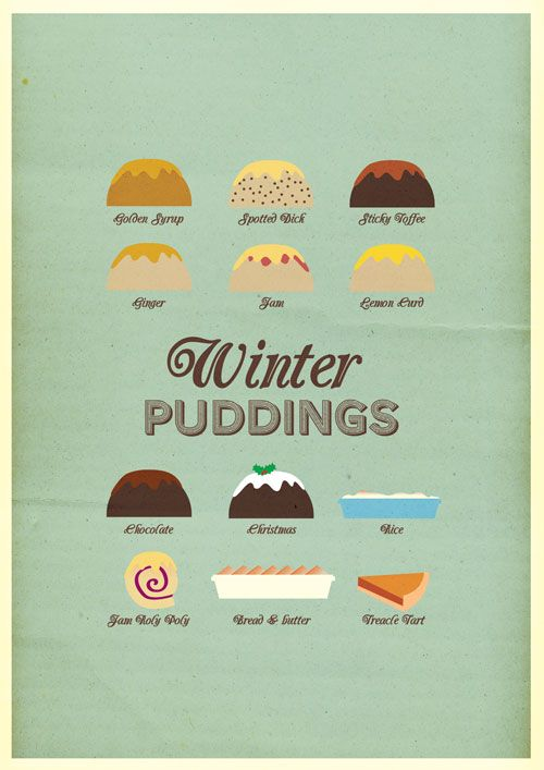 All hail the winter pud!