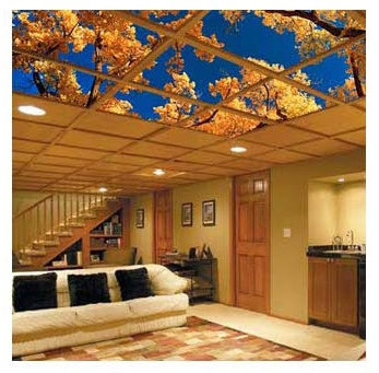 fabric drop ceiling tiles