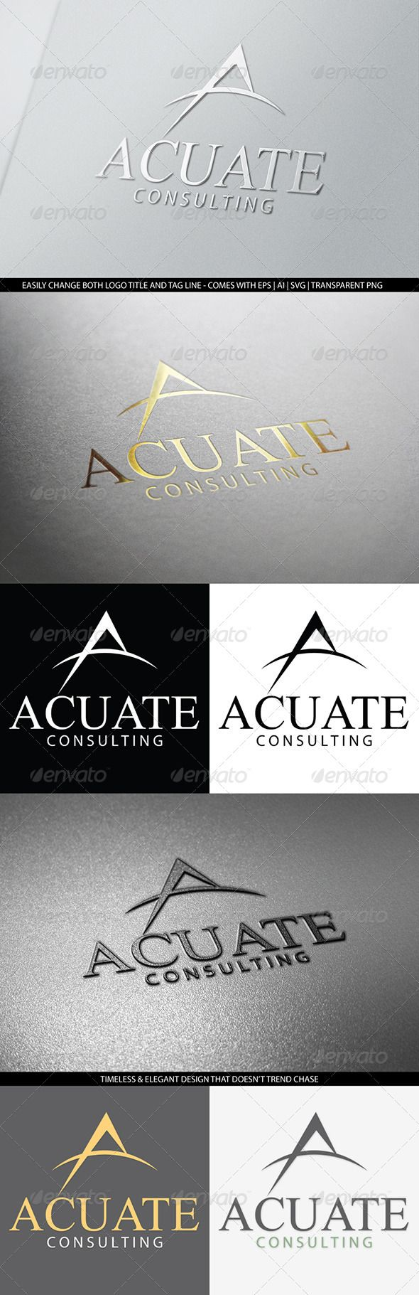 Letter A Logo Template Business or