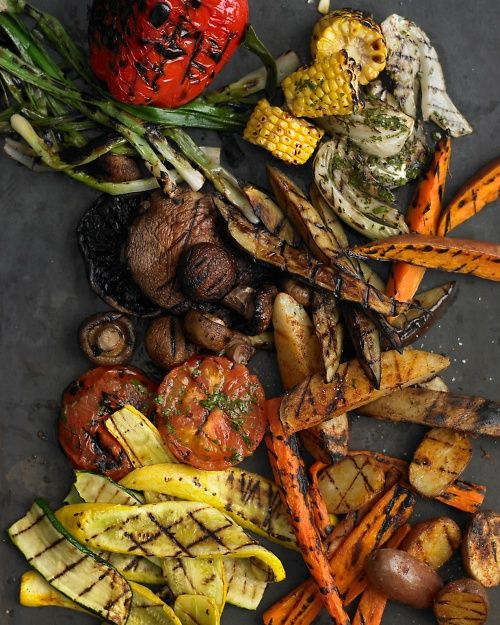 [How to Grill Vegetables] tips include which need pre-cooking. From - Martha Stewart Food