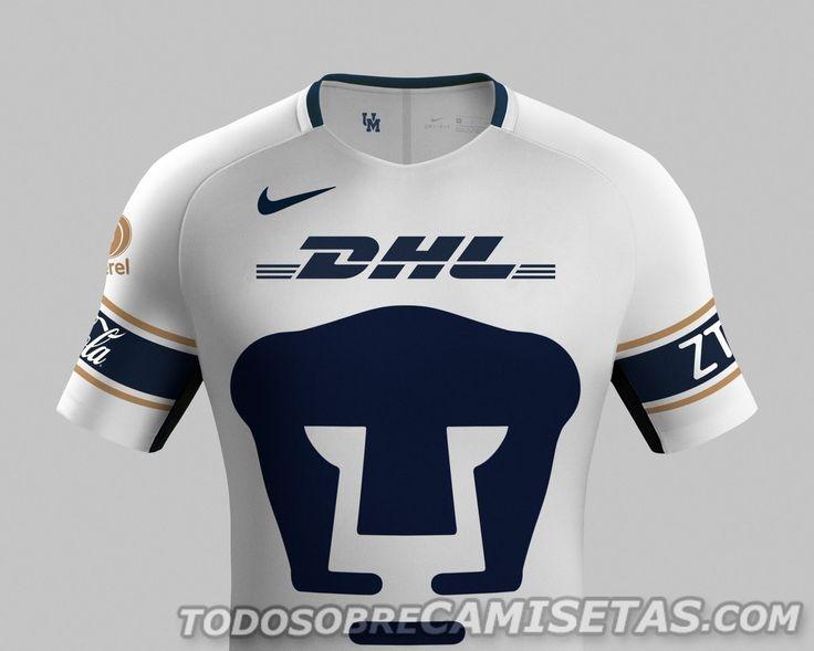 Camisetas Nike de Pumas 2017-18