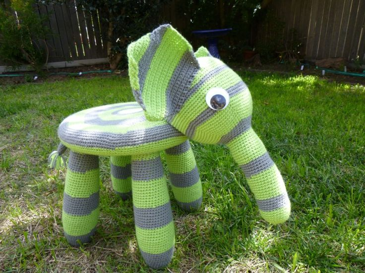 Elephant chair | Jazmo Crochet