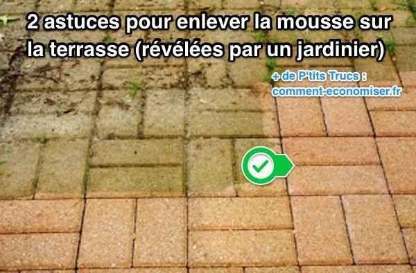 La Mousse A Recouvert Votre Terrasse Pas Besoin Dutiliser Des Produits Corrosifs Et En 2020 Nettoyage Terrasse Mousse