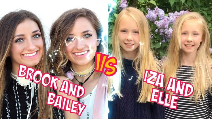 Brook and Bailey VS Iza And Elle l Battle Musers l Musical.ly Compilation