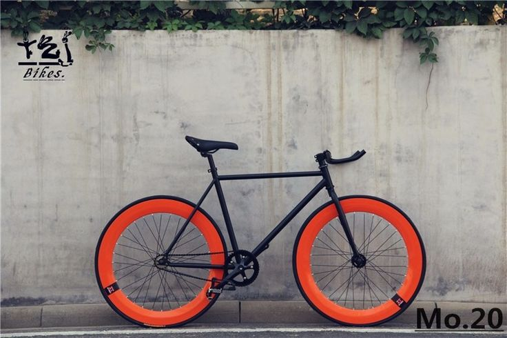 144.00$  Buy now - http://alipcp.worldwells.pw/go.php?t=32691707830 - 1 piece fixie Bicycle Fixed gear bike 46cm 52cm 56cm DIY  single speed road bike track fixie bicycle fixie bike