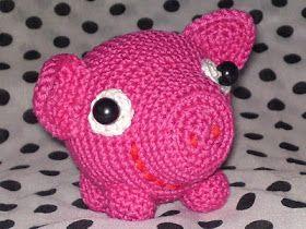 Omdat varkens eigenlijk niet bij valentijn horen, tenzij ze valentijnvarkens zijn!  En ook omdat er zo ontzettend weinig gratis amigurumi-ha...