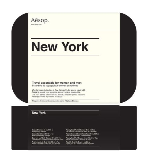 Aēsop / New York Travel Kit / Packaging / 2012