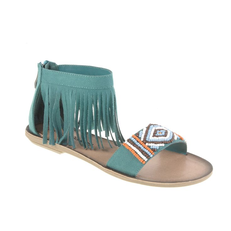 Dirty Laundry Baili Sandal Aquamarine up to off