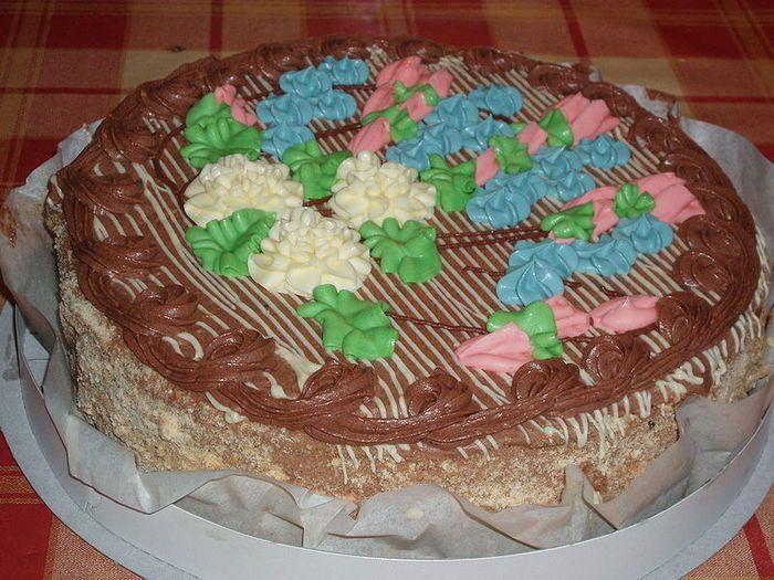 Киевский торт рецепт лёгкий