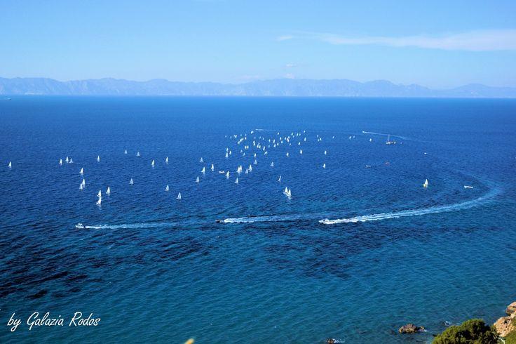 sailing boats -  Rhodes Island