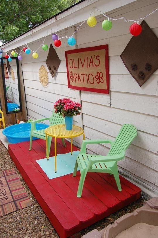 243 best backyard, patio and balcony ideas images on pinterest ... - Kid Friendly Patio Ideas