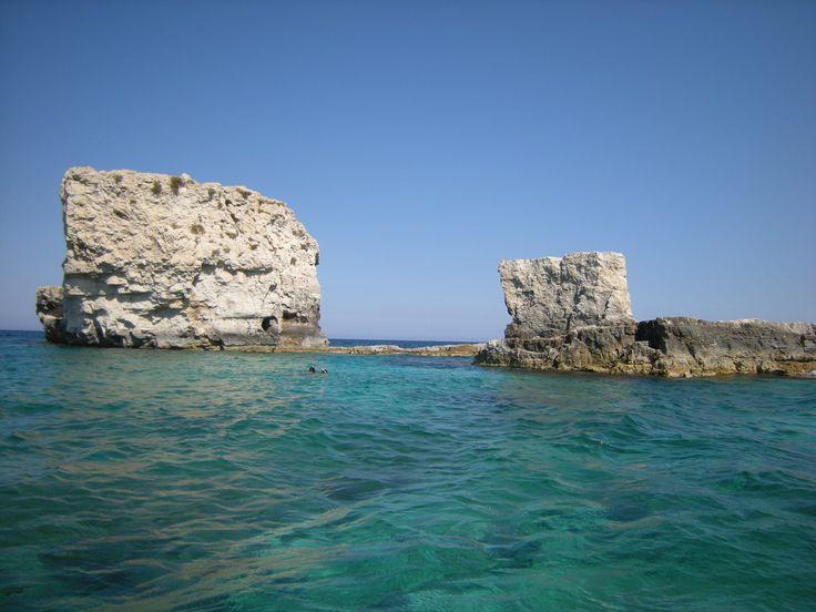 I due Frati - Typical limestone rocks