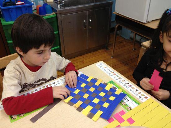 Froebel's Kindergarten! – Paper Weaving | we make art at ps10