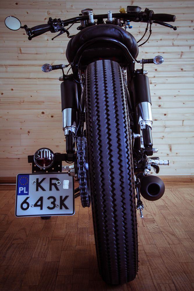 Yamaha SR 500 rear