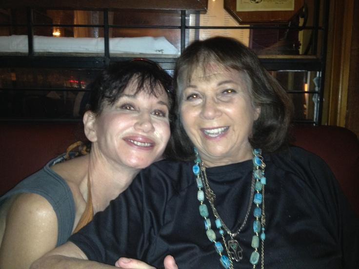 Connie Martinson & me