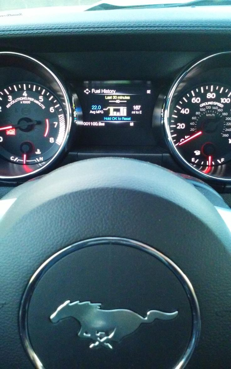 Who needs a prius when my GT gets this good gas mileage? #Mustang #usedcar #car #cars