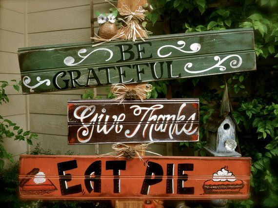 Thanksgiving porch decor