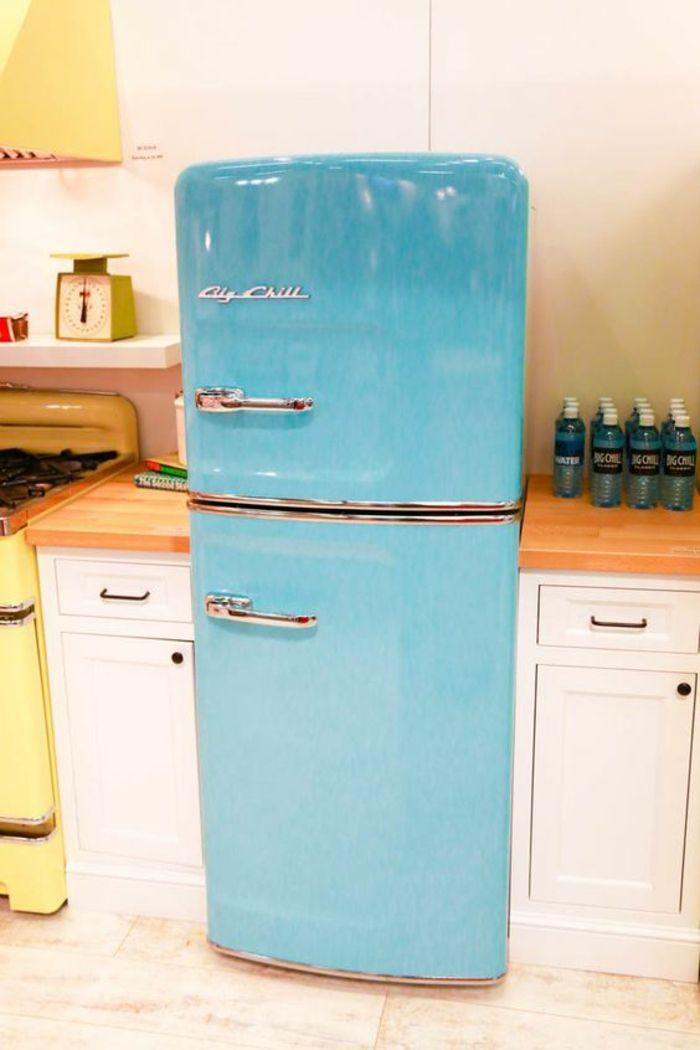 Kühlschrank retro  Die besten 25+ Retro kühlschrank Ideen auf Pinterest | Vintage ...