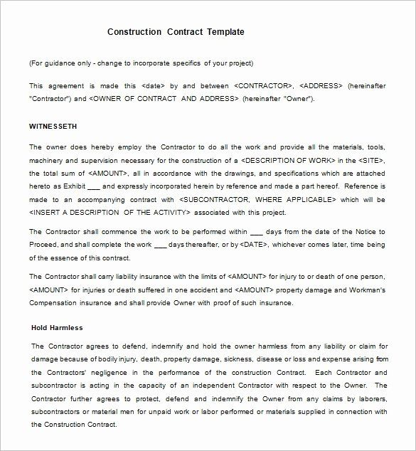 Legal Binding Contract Template In 2020 Contract Template