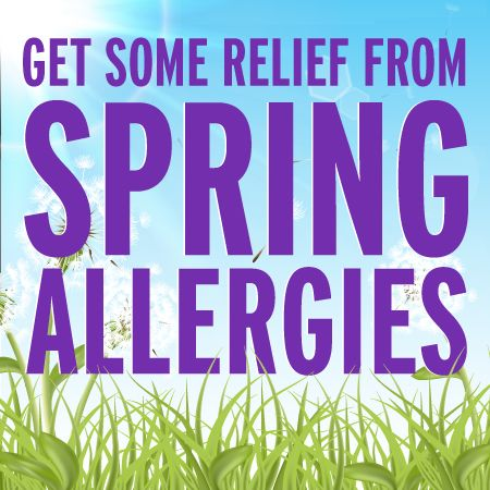 10 Tips to Fight Back Against Spring Allergies | Skinny Mom  Trees tend to pollenate during the early morning hours keeping pollen counts higher and keeping allergy-suffers stuck indoors. Plan outdoor activities or exercise for evening hours when pollen counts are lower, so the only thing keeping you gasping for breath is your super-intense run!