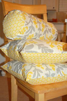 today iu0027m going to show you how to make a bolster pillow aka lumbar