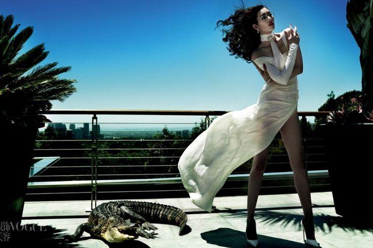 Vogue China Celebrates 100th Issue with Mario Testino, Liu Wen + More