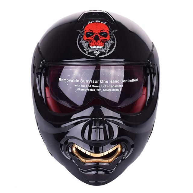 Monster Face Modular Motorcycle Helmet Full Face Helmet Flip up Helmets