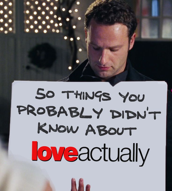 """*le sigh* #itsloveactuallyseason 50 Things You Probably Didn't Know About """"Love Actually"""""""