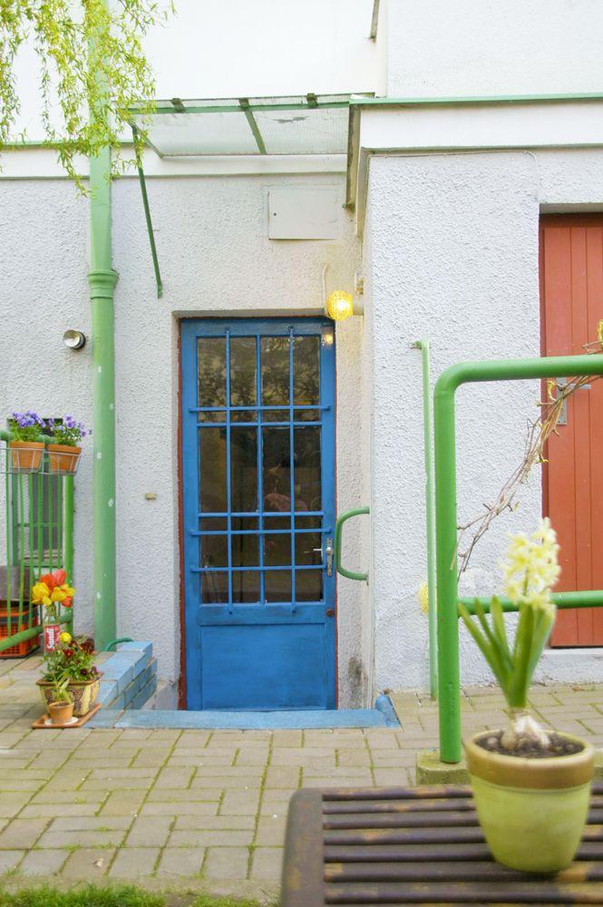 Jarní úprava vchodových dveří :)