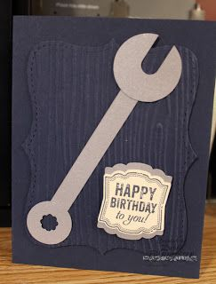 115 best cards men tools images on pinterest masculine cards i have so many handymen in my life i thought this was a must so card it fit so much i had to add a birthday card design to the s m4hsunfo Image collections