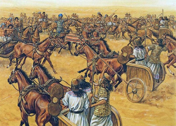 """The Battle of Kadesh"", Adam Hook"