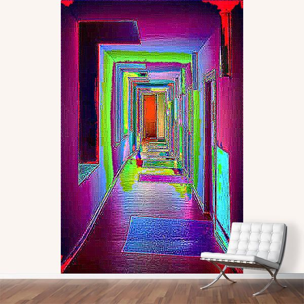 """pxlcrrdr"" Murals by Vividvivi | Artsider"