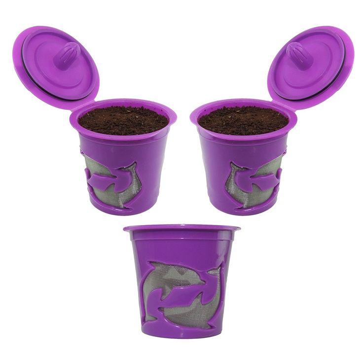 Popular  Pack Keurig K Cups Keurig Reusable K Cup Coffee Filter Refillable
